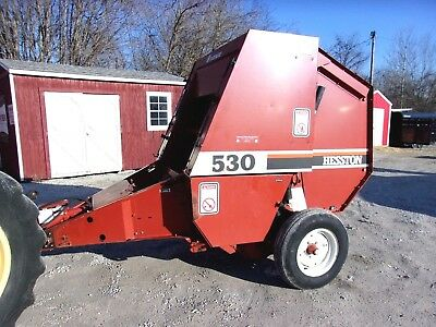 Nice! Hesston 530 Round Baler ---size 4x4.5    CAN SHIP @ $1.85 loaded mile