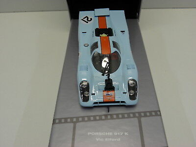 Fly 99128 Slot Car Porsche 917K  Making Of Le Mans Fahrer Filmwagen Vic Elford
