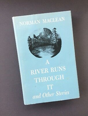 a review of a river runs through it by norman maclean Buy a river runs through it abridged by norman maclean, ivan doig (isbn:  9781598870336) from  would you like to see more reviews about this item.
