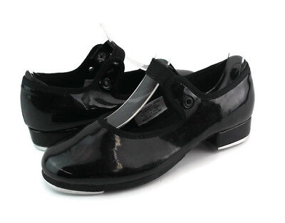 Bloch Girls Black Patent Leather Mary Jane Tapping Dancing Shoes Size US 11 M
