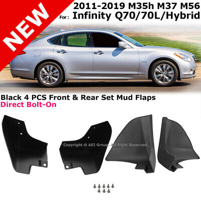 A-Premium Splash Guards Mud Flaps Mud Guards Replacement for Infiniti Q70 2018-2019 Sedan 4-PC