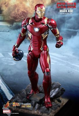 CAPTAIN AMERICA - Iron Man Mark 46 Diecast 1/6th Scale Action Figure (Hot Toys)