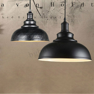 Vintage Modern Industrial Pendant Light Lamp Ceiling Lighting Hanging Chandelier