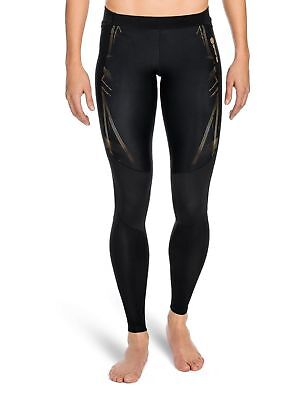 SKINS Women's A400 Compression Long Tights Black/Gold X-Small New