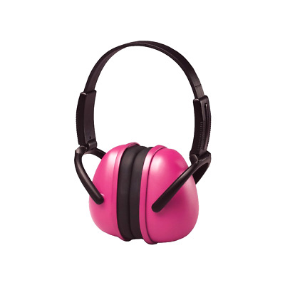 Foldbale Ear Muffs Safety Hearing Protection Shooting Range Reduction Noise Pink