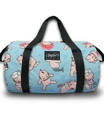 LIQUORBRAND KEWPIE Large Travel Overnight Gym Duffel Duffle Bag