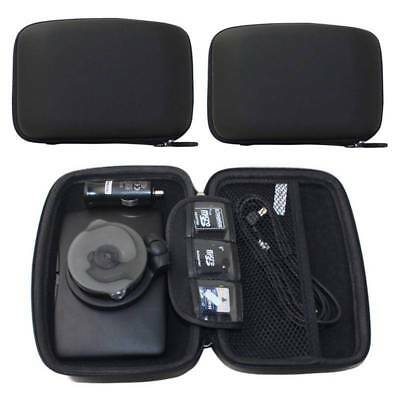 "5"" 6"" Hard Shell Bag Eva Case Carry Pouch Black For GPS Navigator Protective"