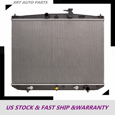New Radiator For Toyota Highlander 2014-2017 3.5L V6 13449