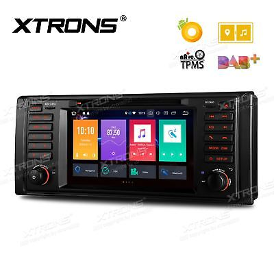 XTRONS Android 8.0 Dash Car Radio Stereo DVD Player GPS Navi For BMW 5Series E39
