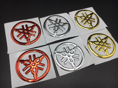 Tuning Fork Emblem Decals For YAMAHA Gas Tank Fairing Stickers Motorcycle Custom