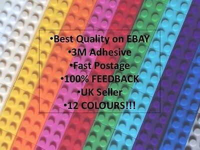 PARTY BAG FILLERS Compatible with LEGO sticky Tape x30 pieces1M 12 colours!!🎉