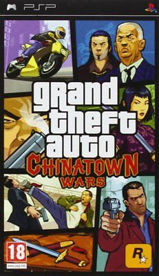 Grand Theft Auto: Chinatown Wars Sony PSP * GTA * Brand New & Sealed * Free P&P