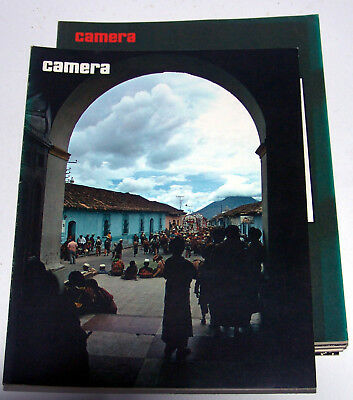 camera art photography magazine - 6 complete years 1974-1979, 72 issues