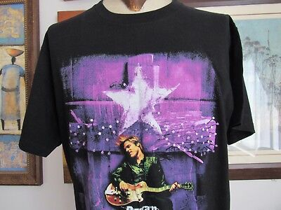 Bryan Adams 1997 Tour T-Shirt Men's XL Vintage 18 Til I Die Black Purple Giant