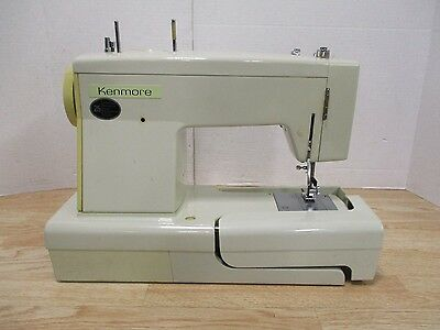 SEARS Kenmore Vintage Mini Portable Electric Sewing Machine Working Beauteous Kenmore Sewing Machine Model 15108