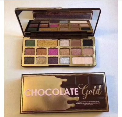 PALETTE CHOCOLATE GOLD 16 colors Eyeshadow metallic matte