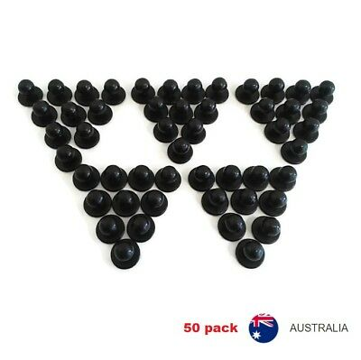 Chef Jacket Buttons 50 X NEW Black Chefs Stud Button Replacement Set Fifty Pack