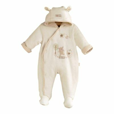 Natures Purest Hug me Snowsuit Teddy Bear Design 3-6 Months (7080B)