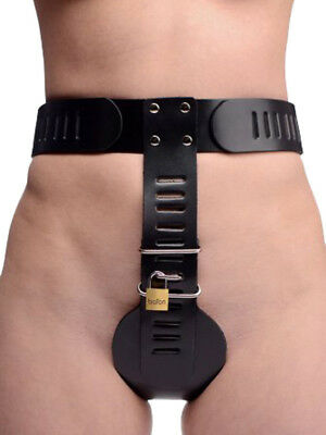 Strict Leather - Bondage - Cuir stricte Homme Ceinture de Chasteté