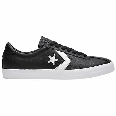 cb9f81787a78 Converse Breakpoint Ox Black White Mens Leather Retro Low-top Sneakers  Trainers