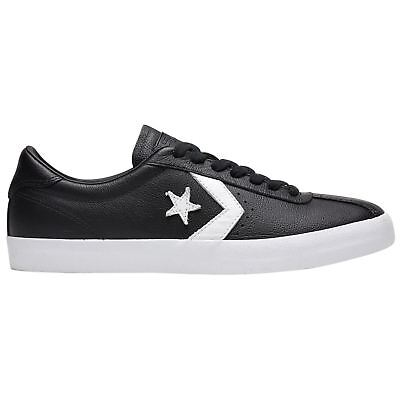 837a24b3684 Converse Breakpoint Ox Black White Mens Leather Retro Low-top Sneakers  Trainers
