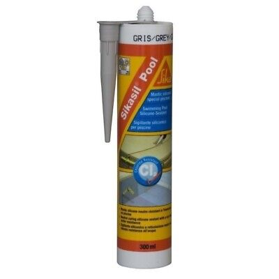 Sika Mastic 130877 Spécial Joint Pour Piscine - Gris - 300 Ml *neuf*