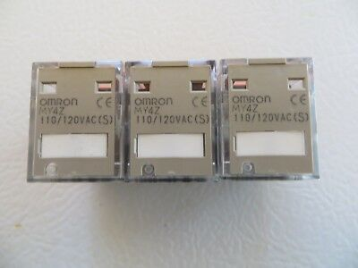 Omron MY4Z Relay 24VDC 14-Pin Lot Of 3