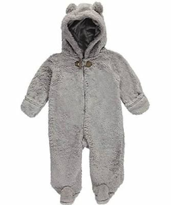 $38 Carter's Baby Boys' Treetop Pram Suit - Gray, 6 Months - Infants