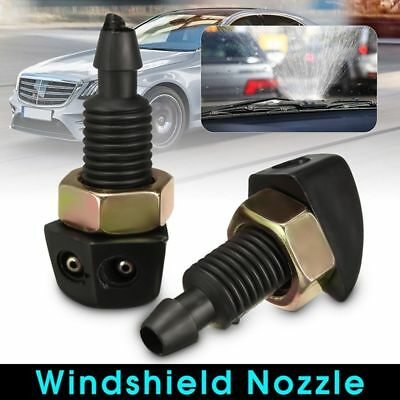 2Pcs Auto Vehicle Universal Sprayer Car Supplies Windshield Washer Nozzle