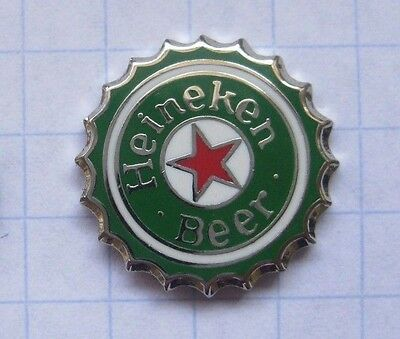 HEINEKEN BEER / KRONKORKEN / HOLLAND  .....................Bier-Pin (119h)
