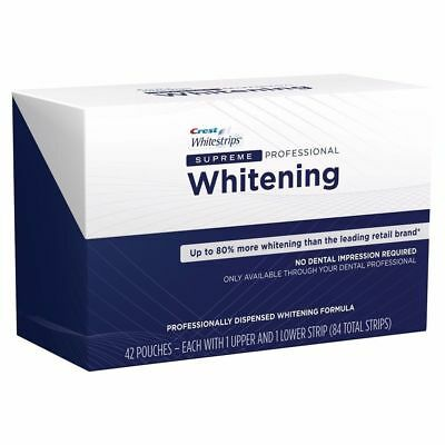 Crest3D Whitening Strips Professional Supreme - 5, 10, 15, 20 days Whitening KIT