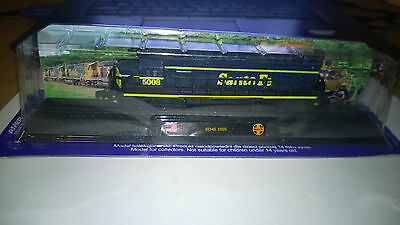 EMD Class SD45 Santa Fe N scale Model Locomotives of the World issue 9