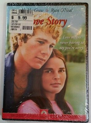 Love Story (DVD, 2001) RARE 1970 ROMANCE ALI MacGRAW RYAN ONEAL BRAND NEW Sealed