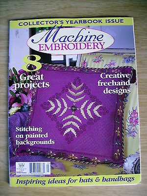 Machine Embroidery & Textile Art Vol 8 #3~Quilt~Chatelaine~Landscape~Clothing...