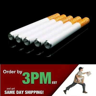 "5x 3"" Cigarette Pipe One Hitter Pipe Metal Bat Tobacco Smoking Dugout Blemished"