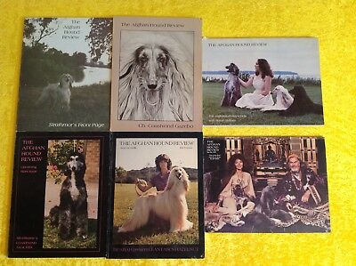 VINTAGE Afghan Hound Review Magazine 1979 Full Year 6 Issues