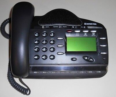 INTER-TEL 1250 Business Phone 618.5115 + Handset + Coiled Cable + FREE SHIPPING!