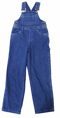 NEW VTG 90s UNLEADED Jeans OVERALLS XS Blue Denim Bib Romper Deadstock NOS