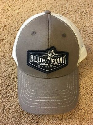 NEW BLUE POINT BREWING COMPANY LONG ISLAND Adjustable Mesh Hat