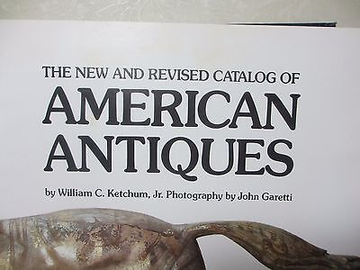 Hardcover Book Catalog of American Antiques No DJ 1980 Very Informative