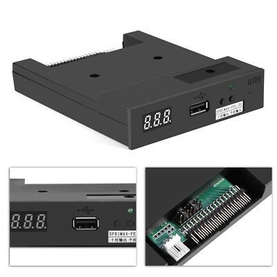"3.5"" 34pin SFR1M44-FEL-DL Floppy Disk Drive USB Emulator For Music Keyboard New"