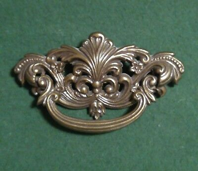 "Continental Brass French Provincial Drawer Pull 3"" Bore Gold B1025 P1024-0 Fancy"