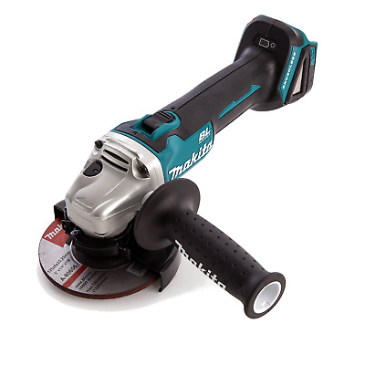 "Makita Lxt Brushless 18V Lithium Ion Cordless 4-1/2"" Angle Grinder  Dga454"