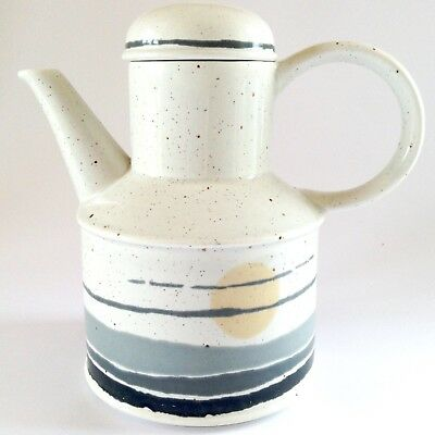 1970s Vintage MIDWINTER Stonehenge NIGHT Retro English Tall Coffee Pot Water Jug