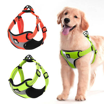 Truelove Reflective No Pull Dog Harness Vest for Bulldog Rottweiler Terrier