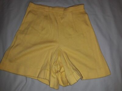 "Vintage 70s Shorts Yellow - ""Hilton Head Islanders"" brand VTG shorts"