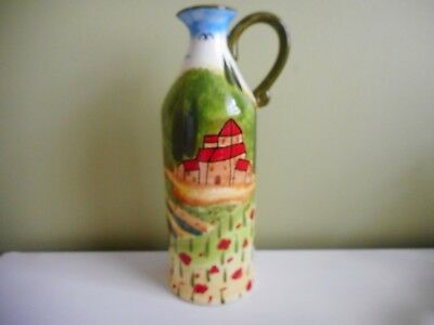 Dan Samuels Tuscan Hills Jug, Pitcher With Handle Height 24Cm Multi Coloured