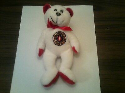 Columbus Fire Department, Columbus,OH, FIREFIGHTER COLLECTIBLE  BEAR w/cfd patch