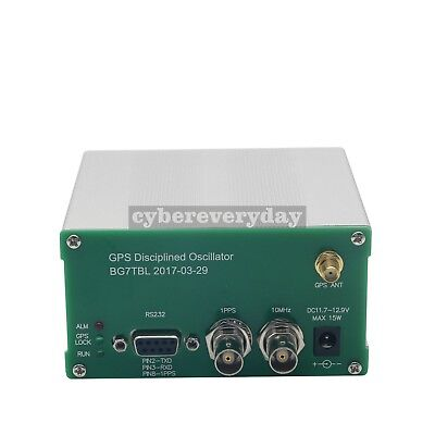GPS Receiver GPSDO 10MHz 1PPS GPS Disciplined Clock+ ANT Power Supply