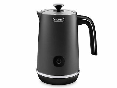 DeLonghi Distinta Milk Frother (Black) frother foamer  Hot and Cold